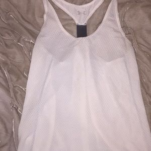 White work out shirt